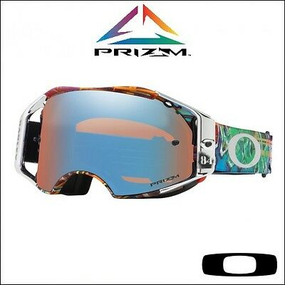 "OcchialeOakley Airbrake MX Prizm Herlings ""Graffito RWB"" Signature -"