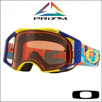 Occhiale Oakley Airbrake MX Prizm™ Thermo Camo Orange Blue - Lente Bronze