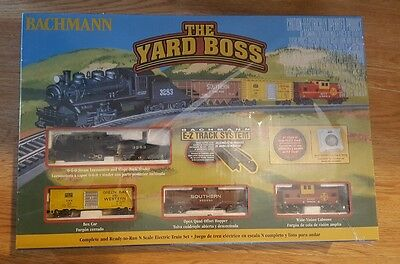NEW  Bachmann The Yard Boss N Scale Electric Train Set 24014