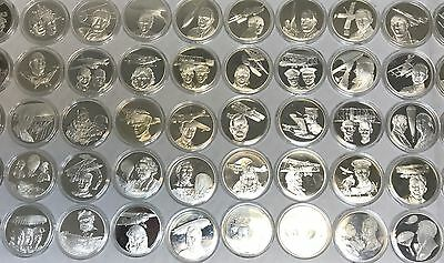 RAF Museum History of Aviation Silver Proof Medal Collection Very Scarce Coin
