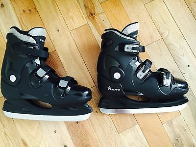 Ice Skates Boots Freesport Size 46 Boot uk 11 Blades Quick Release Please Read
