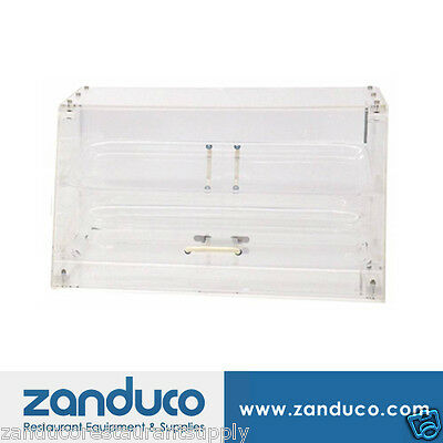 Omcan Acrylic Display Case with 2 Trays