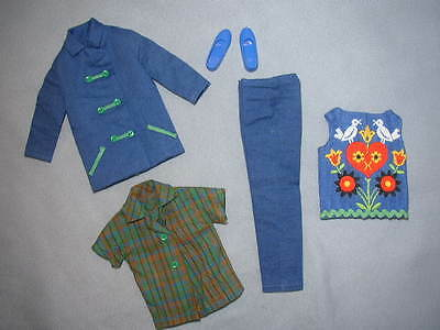 Vintage 1965 SKIPPER Barbie Doll FUN TIME Outfit - NEAR COMPLETE