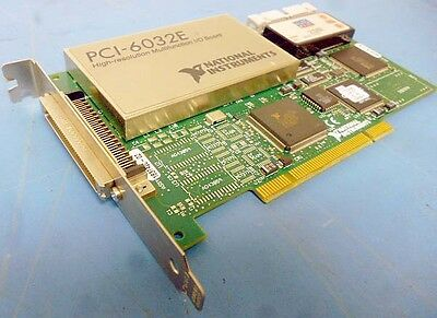National Instruments PCI-6032E High Res Multifunction IO Board 183742G-02