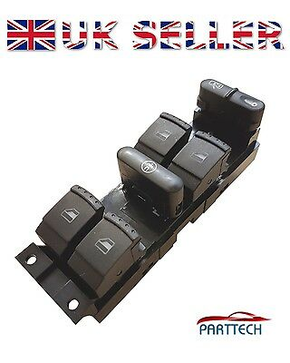 Ford Galaxy Vw Sharan Seat Alhambra Power Master Window Switch Console ..