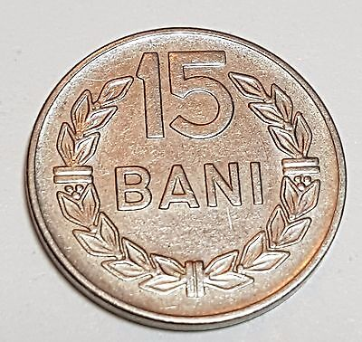 1960 15 Bani Romania Coin