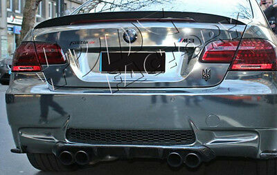 Carbon Fiber Ducktail Boot Spoiler Trunk Lid for BMW E92 Coupe Tune Factory