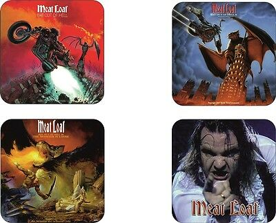 Meat Loaf Bat Out Hell Four Pack Coaster Set