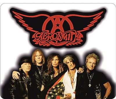 Aerosmith Band & Logo Mouse Mat