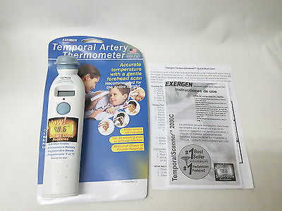Exergen Temporal Scan Forehead Artery Baby Thermometer Tat-2000c [MR104-XT6]