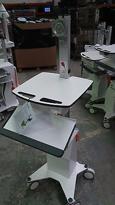 Parity Medical Hygia VHA Single Screen Workstation. Powered mobile Cart