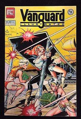 Pacific Comics Vanguard Illustrated #2 Signed By Dave Stevens NM