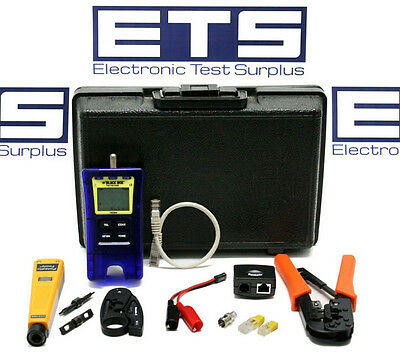 Black Box TS590A Coax Network Trouble Shoot Install Test Kit