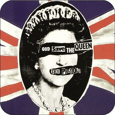 Sex Pistols God Save The Queen Coaster
