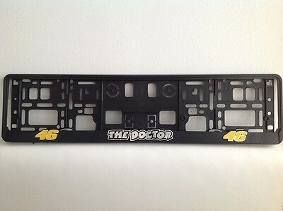 The Doctor, 3D effect License Number Plate Holders