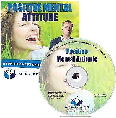 Positive Mental Attitude Hypnosis CD - Put Yourself in a More Optimistic State o