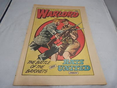 WARLORD Comic No. 566 July 27th 1985