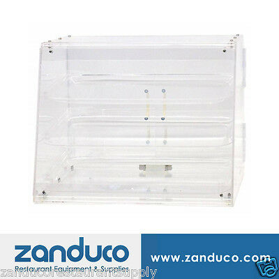 Omcan Acrylic Display Case with 3 Trays