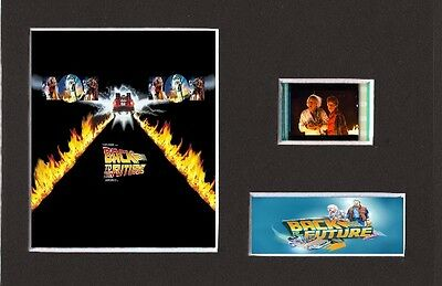 Back To The Future replica 35mm Mounted Film Cell Presentation 6 x 4