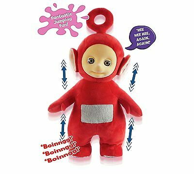 Teletubbies Jumping Po Plush Toy With Sound Effects 18 Months +  NWT