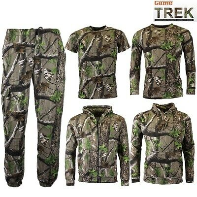 Anzüge Game Trek Kids Camo Tracksuit Zip Hoody and Jogger Set Kinder Tarnanzug
