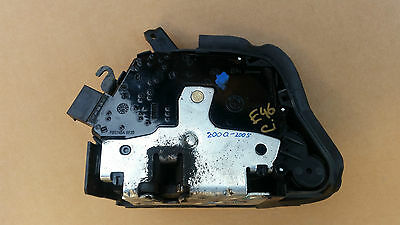 BMW E46 Coupe Convertible Drivers Right O/S Door Lock Actuator Mechanism 2001-06
