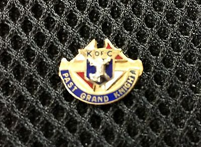 Past Grand Knight K.of C. Tie Tack/ Lapel Button