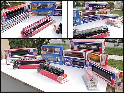 Lot 12 Wagons Jouef En Boites Origine Train Electrique Ho