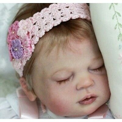 """Ivy Jane By Melody Hess New Reborn Baby Doll Kit @ Limited Edition @ 22"""""""
