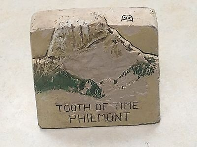 Philmont Tooth of Time - PTC Faculty Ceramic Desk Ornament