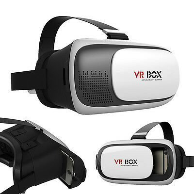 Vr Headset Virtual 3d Reality Glasses Iphone Samsung Android Remote Google Ios