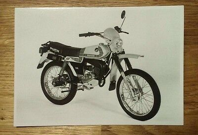 POSTCARD: PUCH Ranger TT 1981 - 10x15cm - NEW reproduction postcard from Austria