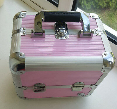 Large Vanity Case Beauty Box Make up Jewelry Cosmetic Nail Storage