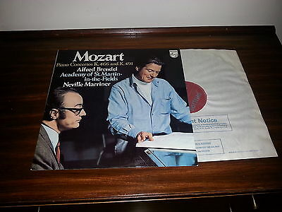 6500 533 Mozart piano concertos No 20 and 24 - ASMF / Marriner / Brendel