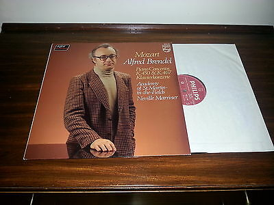 6514 148 Mozart piano concertos No 15 & 21 - ASMF / Marriner / Brendel