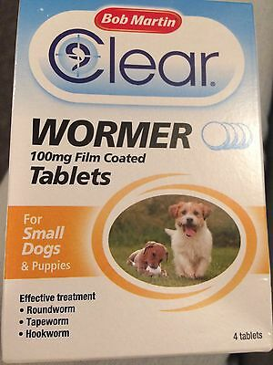 Bob Martin Dog Wormer For Small Dogs And Puppies