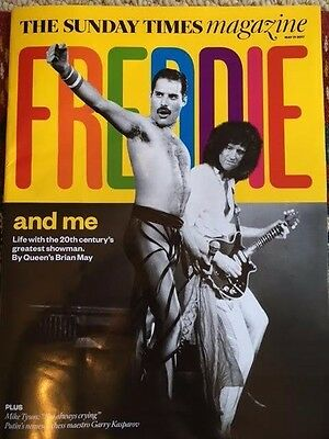 New UK Queen The Sunday Times Magazine Cover Clippings Freddie Mercury Brian May
