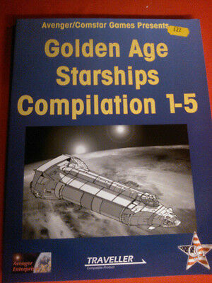 Traveller - Golden Age of Starships Compendium - 1-5 - Rare and Out of Print