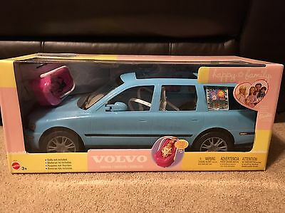 Happy Family-Barbie Volvo For Midge and Family