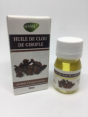 Huile De Clou De Girofle Assil 30ml 100% Naturelle