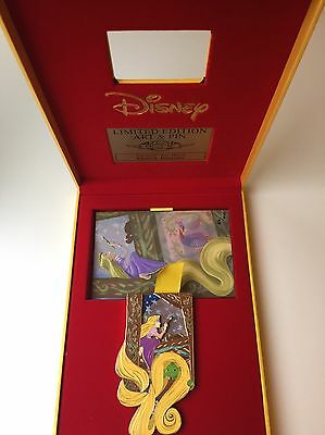 Tangled Acme Rapunzel Pascal Day Dream Jumbo Pin LE 100