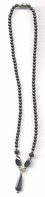 Hematine 18 Inch Drop Necklace Pack Of 10 With Gold Tone Twist Clasp -  Wow!!