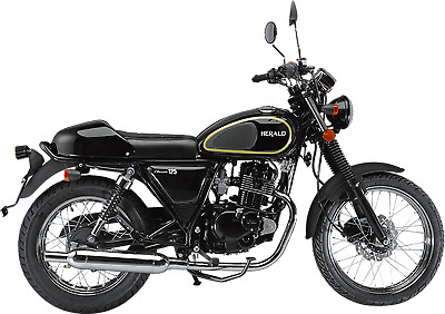 HERALD CLASSIC 125cc & 250cc  NEW  FINANCE AVAILABLE