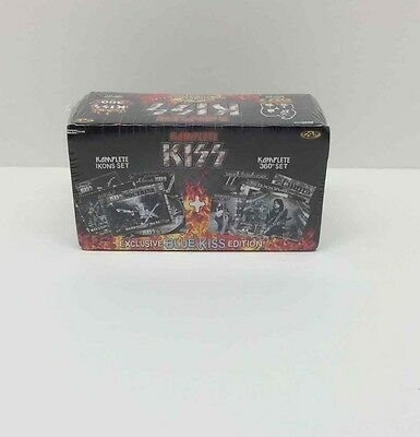 Kiss 360 Trading Cards Complete Box Set of 180 Blue Edition Rock Music Band NEW