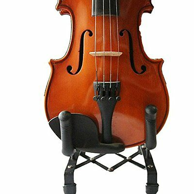 NEW Sky Brand New Metal Violin Viola Stand Lightweight and Foldable SHIPS FREE