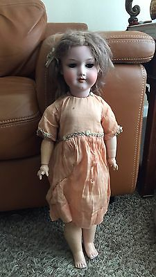 "Armand Marseille 390 Bisque 23"" Doll Crier Walker Composition Antique A.M. Rare"