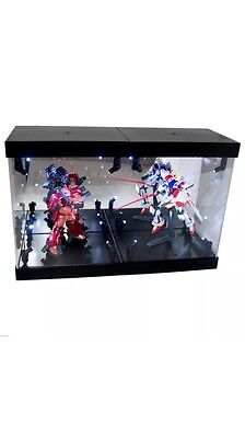 Mb-2 Display Box Acrylic Case Led For Toys Crystals Trophies