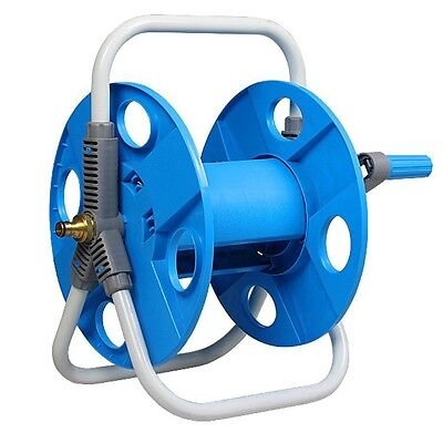 Hose Reel Holder Cart Water Portable Pipe Storage Stand Prevent Garden Reels