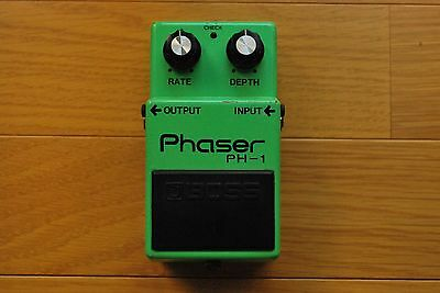Boss PH-1 Phaser w/silver screw Vintage Guitar Effect Pedal Worldwide Shipping!!