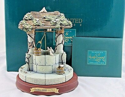 """WDCC Enchanted Places """"Snow White's Wishing Well"""" from Snow White in Box COA"""